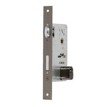 Fechadura para Porta Pivotante 55mm Aço Oxidado Tecnoponto Imab
