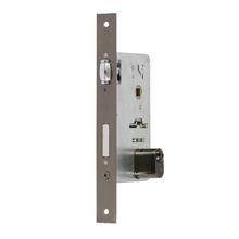 Fechadura para Porta Pivotante 55mm Latão Oxidado Tecnoponto Imab