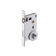 Fechadura para Portas Pivotante Trinco Rolete 55mm Latão Cromado Acetinado EZ1710G10 Imab