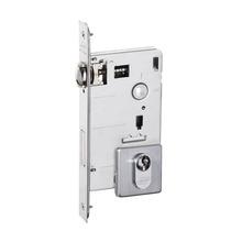 Fechadura para Portas Pivotante Trinco Rolete 55mm Latão Cromado Acetinado EZ1710G20 Imab
