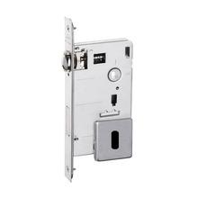 Fechadura para Portas Pivotante Trinco Rolete 55mm Latão Cromado Acetinado IZ1710G50 Imab