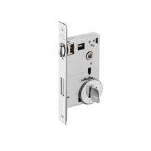 Fechadura para Portas Pivotante Trinco Rolete 55mm Latão Cromado BZ1710G70 Imab