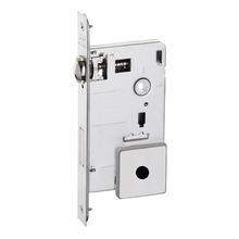 Fechadura para Portas Pivotante Trinco Rolete 55mm Latão Cromado BZ1710G80 Imab