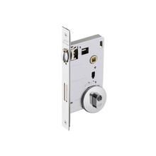 Fechadura para Portas Pivotante Trinco Rolete 55mm Latão Cromado EZ1710G10 Imab