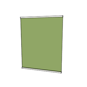 Fechamento de Sacada Fixo Vidro Verde 8mm BR Baldex