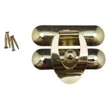 Fecho Baú Cadeado Interno Ouro 3,4 cm Better's