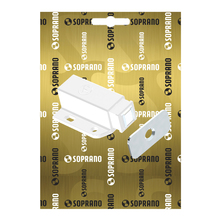 Fecho para Móveis Magnético  Branco 15x28,5mm Soprano