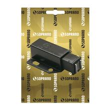 Fecho para Móveis Magnético  Preto 15x28,5mm Soprano