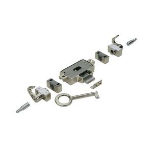 Fecho para Móveis Magnético ABS Fosco Branco 15,05x38mm Hettich