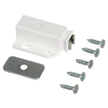 Fecho para Móveis Magnético ABS Fosco Branco 15,05x38mm Standers