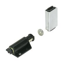 Fecho para Móveis Magnético Sobrepor Preto 1 peças