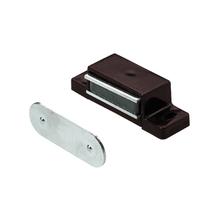 Fecho para Móveis Magnético Sobrepor Preto 2 peças