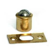 Fecho para Móveis Simples Ferro Latonado Dourado 13x10mm Coimbra