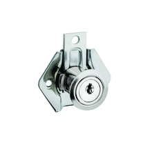 Fecho para Móveis Simples Niquelado Prata 0,038x0,022mm Stam