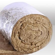 Feltro de Lã de Rocha 32kg M3 Revestido com Kraft Aluminizado Biolã