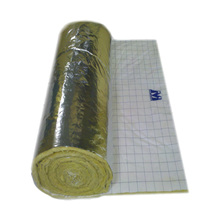 Feltro Lã de Vidro Mastersol Plus Revestido em Ambas as Faces 120x2500cm Espessura 20mm Heme Isolantes