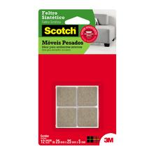 Feltro Scotch móveis pesados quadrado Grande