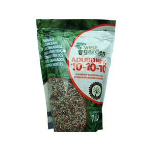 Fertilizante 10-10-10 1Kg West Garden