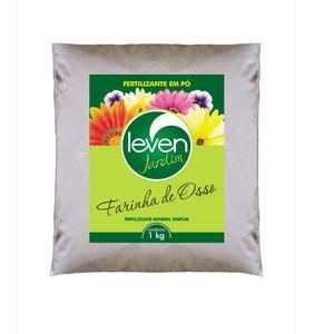 Fertilizante Farrinha de Osso 1Kg Leven