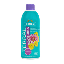 Fertilizante Flores Concentrado 500ml Terral