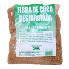 Fibra de Coco Desidratada 200g Agrofor