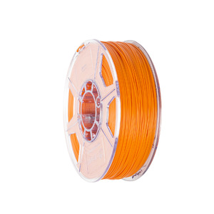 Filamento PLA 1,75mm 1Kg Laranja  Cliever