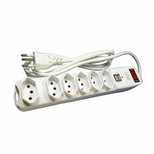 FILTR LINHA C/CHAVE DIS. 6 TOM. 3p 2 USB