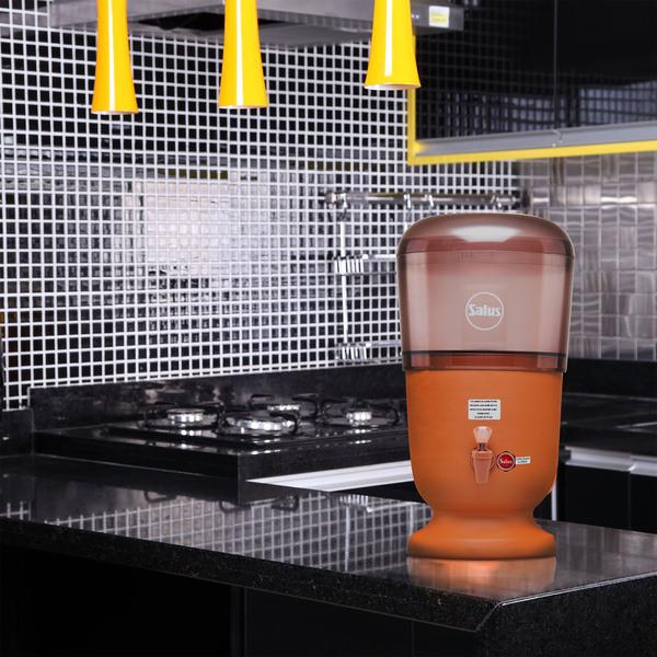Populares Filtro de Barro e Acrílico 8L com Duas Velas Salus | Leroy Merlin OR72