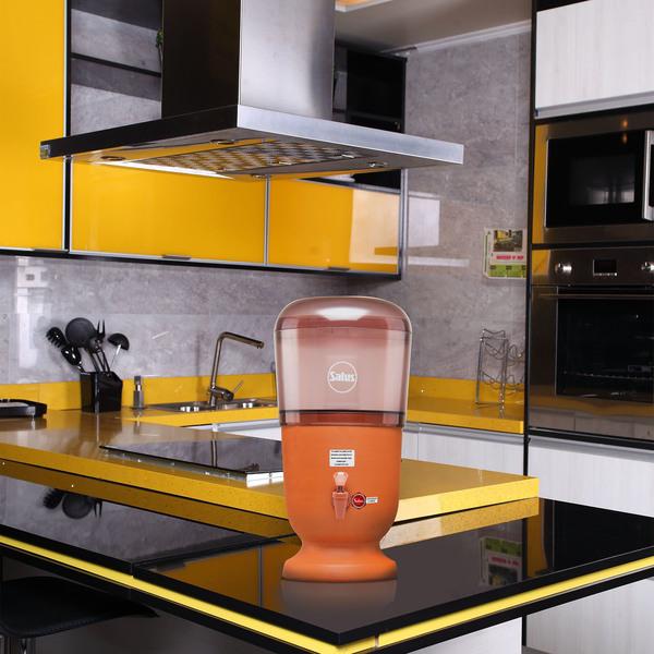 Preferência Filtro de Barro e Acrílico 6L com Uma Vela Salus | Leroy Merlin CM13