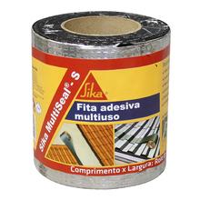 Fita Adesiva Multiuso Sika MultiSeal-S Alumínio 15cmx10m