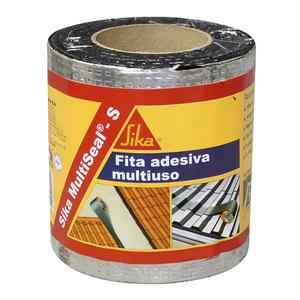 Fita Adesiva Multiuso Sika MultiSeal-S Alumínio 20cmx10m