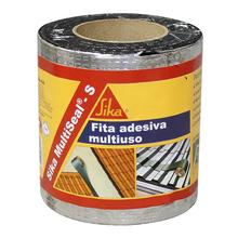 Fita Adesiva Multiuso Sika MultiSeal-S Alumínio 30cmx10m