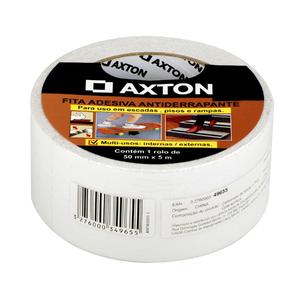 Fita Antiderrapante 50mmx5m Branco Axton