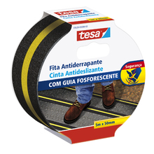 Fita Antiderrapante 50mmx5m Fluorescente Tesa