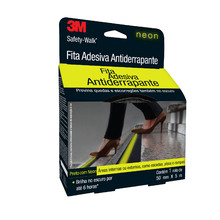 Fita Antiderrapante Safety Walk Neon 50mmx5m 3M