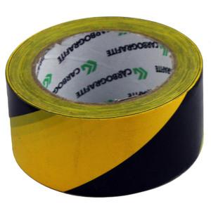 Fita Area Interditada 7cmx200m Amarelo