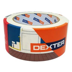Fita Crepe Branca 50mm x 50m Dexter