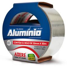 Fita de Aluminio 50mm x 30m Adere