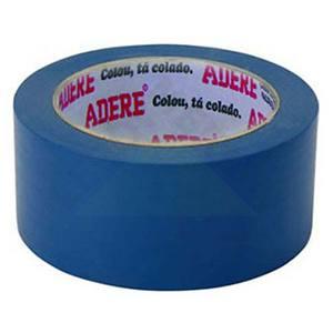 Fita Demarcação 5,0cmx15m Azul Adere