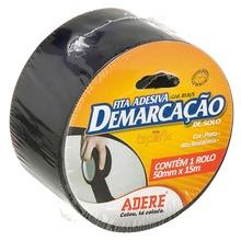 Fita Demarcação 5,0cmx15m Preta Adere