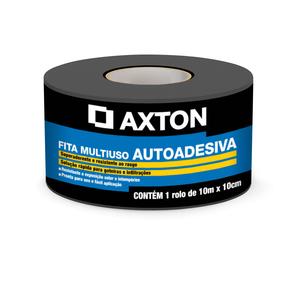 Fita Multiuso Asfática Autoadesiva 10cmx10m Axton