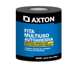 Fita Multiuso Asfática Autoadesiva 20cmx10m Axton
