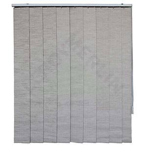 Fita persiana Vertical Blackout Tecido 0,18x1,60m Linho Tecnarte