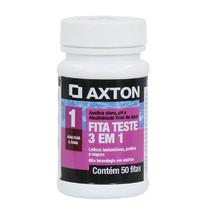 Fita Teste 3 em 1 50 unidades Axton