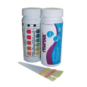 Fita Teste para Verificar Alcalinidade Total Ph Cloro 50 Tiras Hidroall