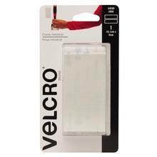 Fixador Auto Adesivo Extra Forte Tiras 10,1cm x 5cm 1 jogo Branco Velcro