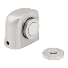 Fixador para Portas Magnético Alumínio Niquelado Prata PP500 Vonder