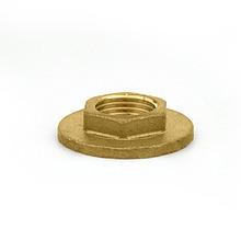 """Flange Latão Roscável Água Quente e Fria 42mm ou 1.1/2"""" Ramo"""