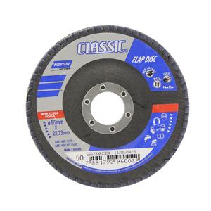 Flap Disc Classic 115 X 22 Grão 50 - Norton