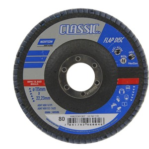 Flap Disc Classic 115 X 22 Grão 80 - Norton